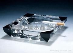 定做水晶烟灰缸