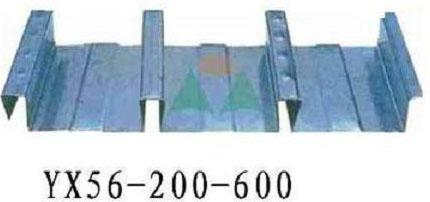 燕尾式樓承板YX51-190-760  4