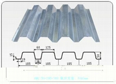 鋼樓承板YXB65-185-555 組合樓板