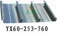 閉口式樓承板YX60-253-760