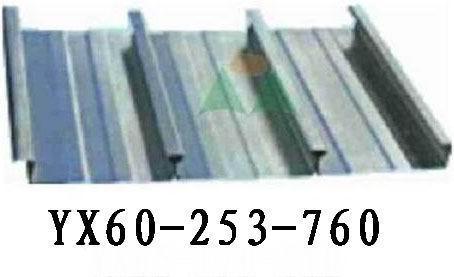 閉口式樓承板YX60-253-760    5