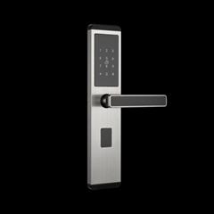 Hotel swipe card lock
