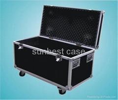 铝制仪器箱机柜U型机柜音响储存搬运箱