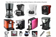 drip coffee maker & espresso coffee maker and capsule coffee machine