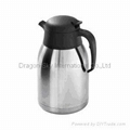stainless steel vacuum coffee and tea pot 1