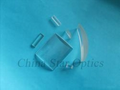 optical BK7 glass plano-convex cylindrical lens