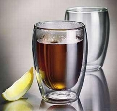 double wall glass cups