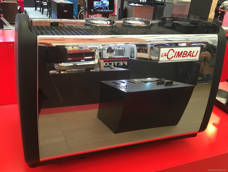 La Cimbali金佰利双头半自动意式咖啡机 5