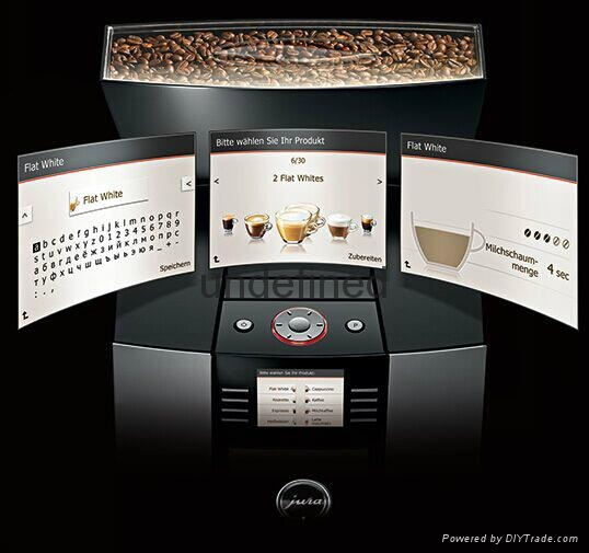 JURA优瑞GIGA X3c Professional商用全自动咖啡机 4