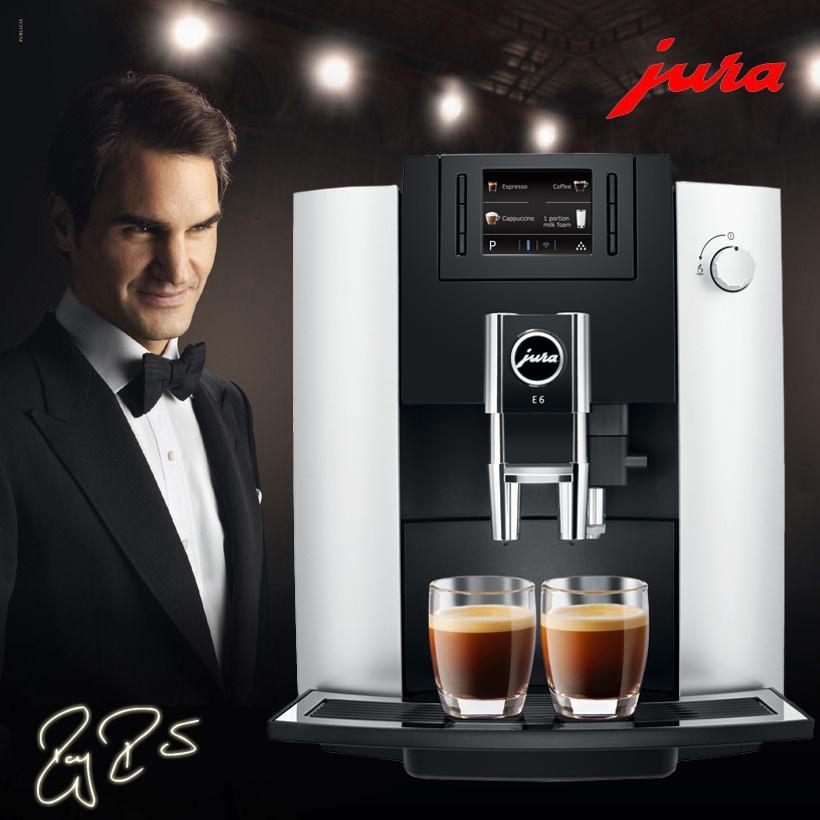 JURA/优瑞E6家用意式咖啡机 1