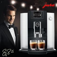 JURA/優瑞E6家用意式咖啡機
