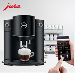 JURA优瑞D6家用意式咖啡机