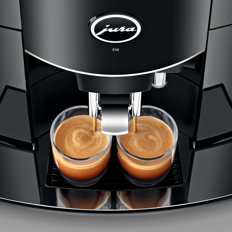 JURA优瑞D6家用意式咖啡机 3