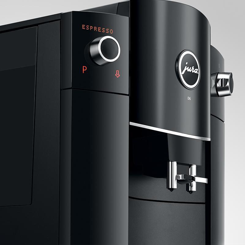 JURA优瑞D6家用意式咖啡机 4