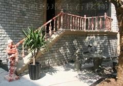 紅室外樓梯