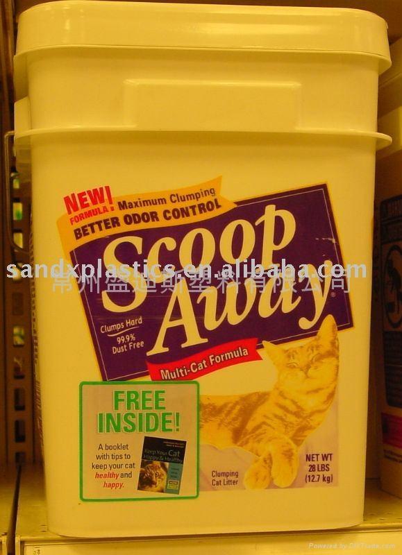 白乳膠桶   常州盛笛帕克 塑料方桶 1
