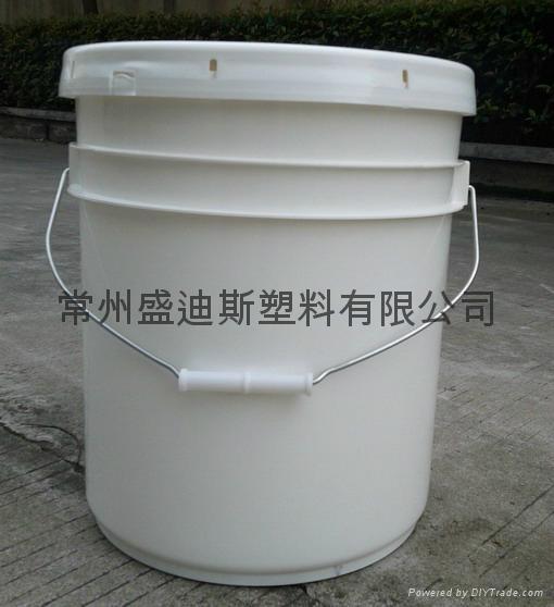 常州盛笛帕克 20L中空玻璃膠包裝桶 1