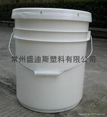 常州盛笛帕克 20L中空玻璃膠包裝桶