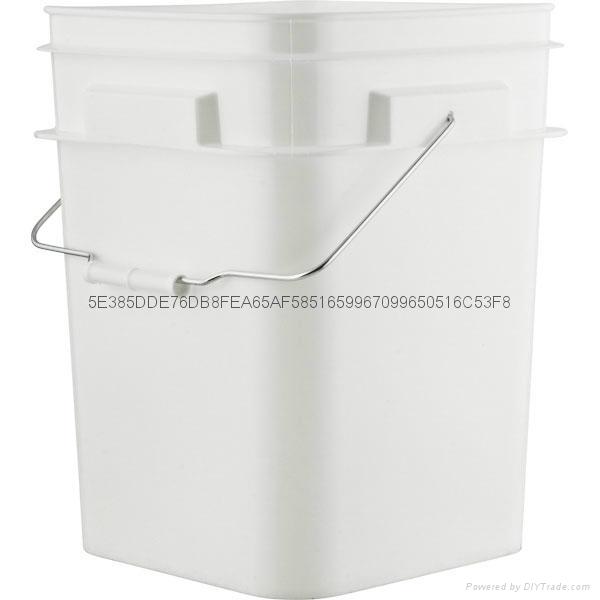 常州盛笛帕克   塑料猫砂桶   塑料方桶 3