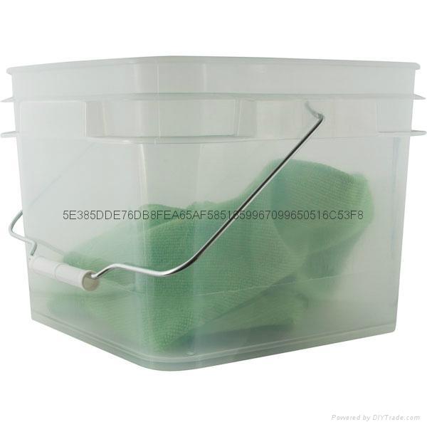 常州盛笛帕克   塑料猫砂桶   塑料方桶 4