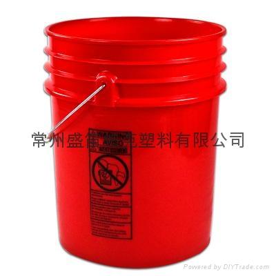 常州盛笛帕克   高档塑料桶 1