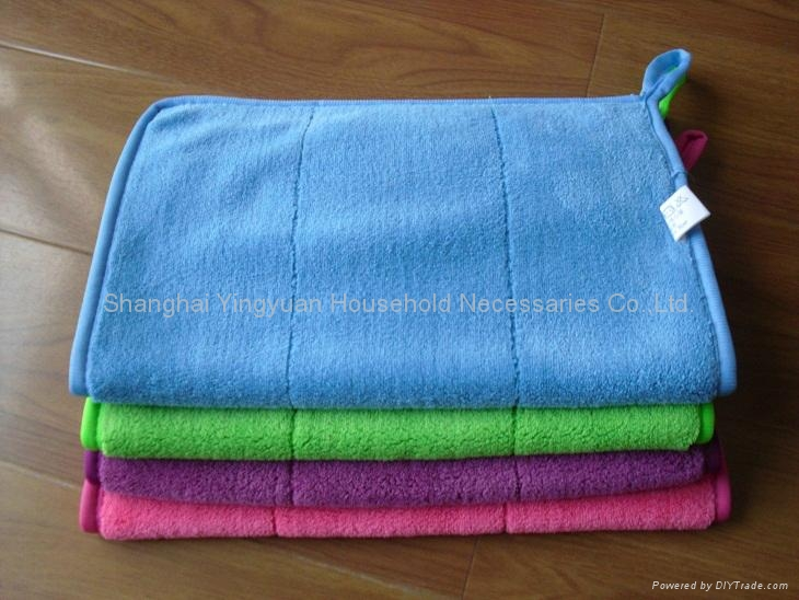 coral fleece hand towel 1