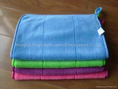 coral fleece hand towel