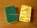kitchen sponge with pattern