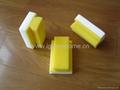 melamine sponge with grip