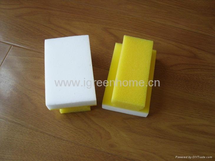 melamine sponge with grip 2