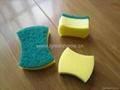 scouring sponge pad