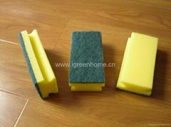 groove sponge scourer