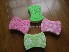 printed cellulose sponge
