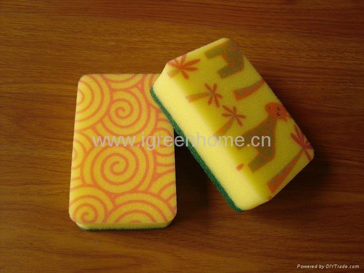 kitchen sponge with pattern 5
