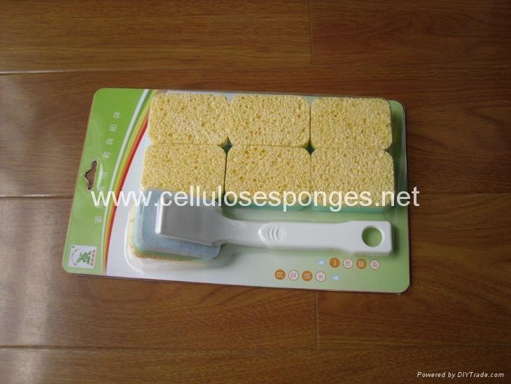 cellulose sponge brush 1