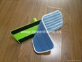 Adjustable handle microfiber flat mop 3