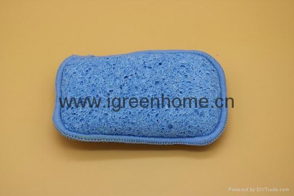 dual cellulose sponge pad  1