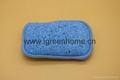 dual cellulose sponge pad