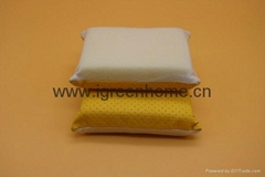 microfiber glass cleaning sponge