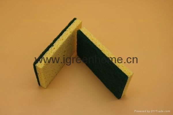 biodegradable cellulose sponge pad 2