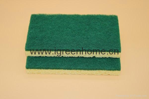 biodegradable cellulose sponge pad 1