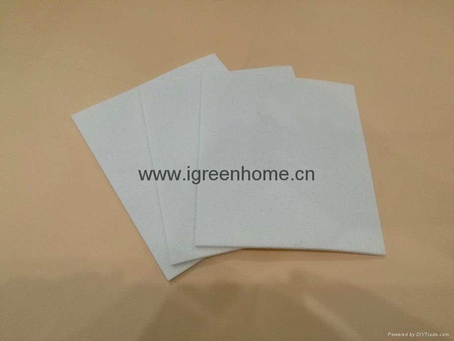 white color biodegradable cellulose sponge cloth 2