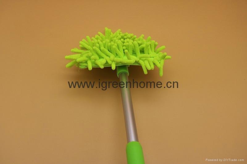 corner cleaning microfiber adjustable AL handle mop 3