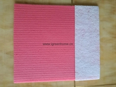 cellulose sponge cloth wipe scouring pad