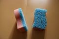 new dish sponge become soft meeting hot water 2