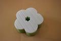 new soft flower sponge scourer 3