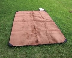 outdoor survival blanket with fleece