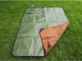 outdoor survival blanket with fleece