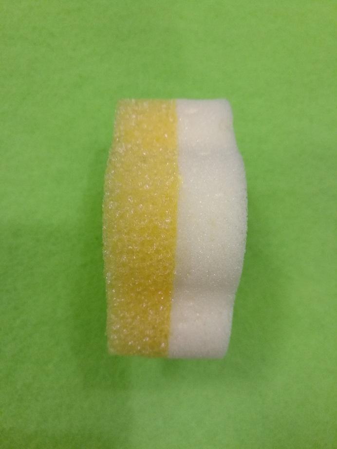 sponge back with melamine sponge 4