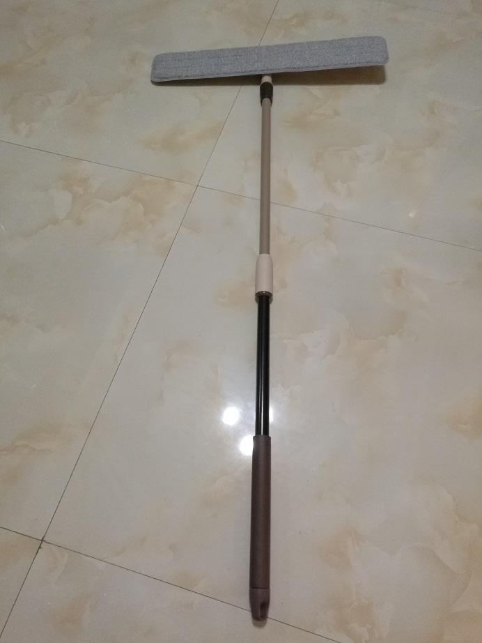 Adjustable handle microfiber flat mop 1